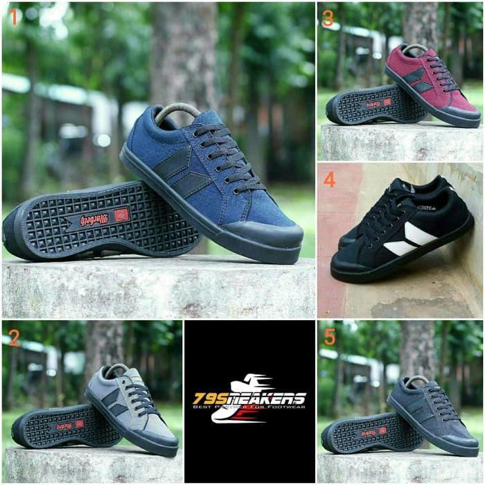 Sepatu Sneakers Sepatu Macbeth1 Vegan Premium Original Sepatu Pria Sepatu Kets Sepatu Gaya Sepatu Keren Sepatu Sekolah Sepatu Navy Hitam Abu-abu