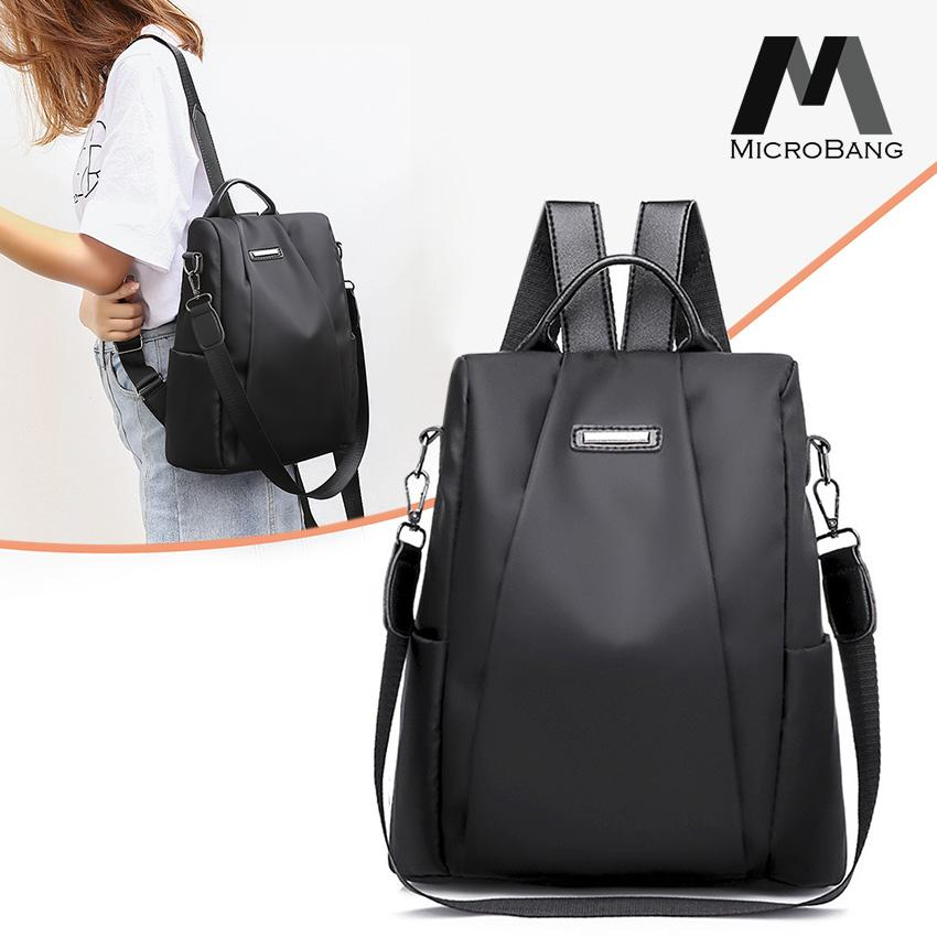 27d785230a79 MicroBang Fashion Backpacks Women Shoulder Bag Korea Style Anti-theft  Backpack College School Bag For