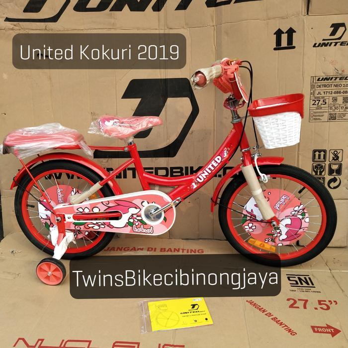Promo    Sepeda Anak 18 Mini United Kokuri 2019    Termurah