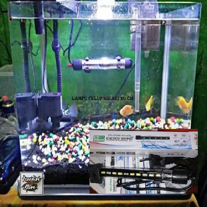 Lampu celup HIKARI HK-LP200-T4-LED 20CM LED aquarium 20cm