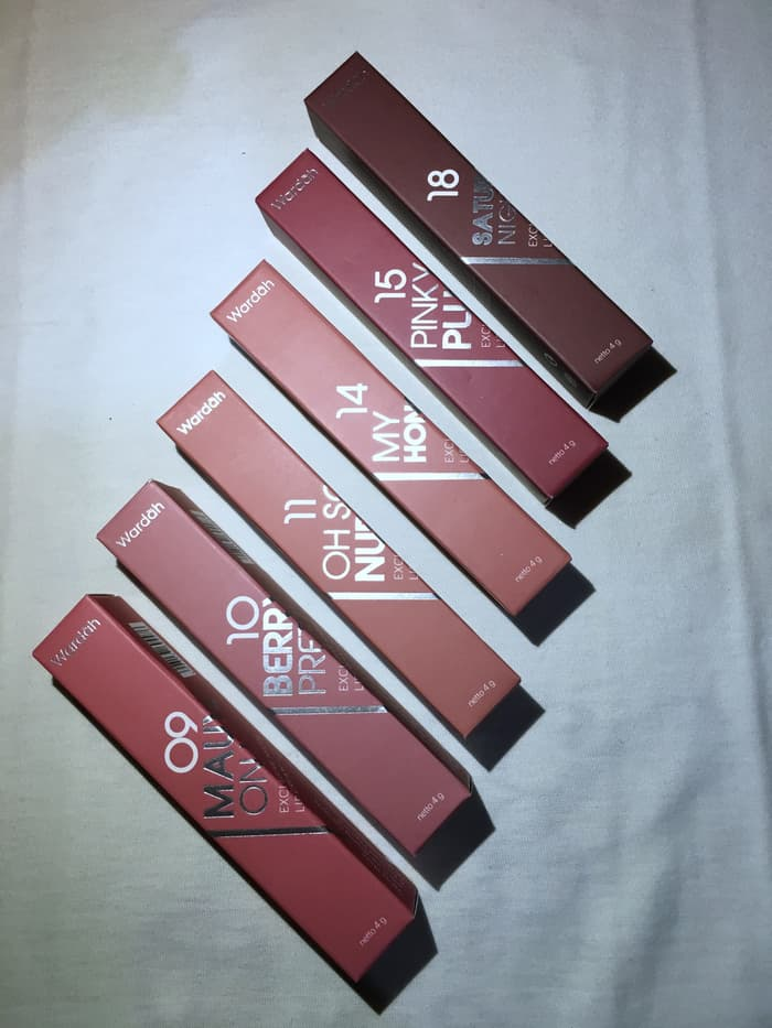 Hari Ini Wardah Exclusive Matte Lip Cream Original Diskon