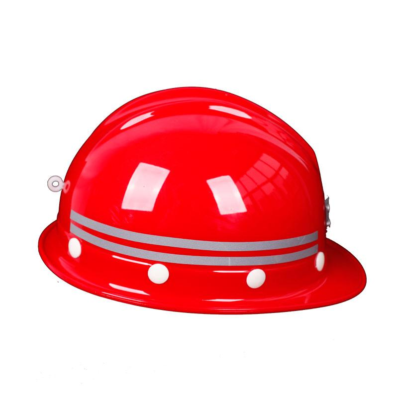 Glass Fiber Reinforced Plastic Safety Helmet Leadership National Standard Reflective Construction Site Construction Electric Power Engineering Mine Miner Smashing Safety Helmet