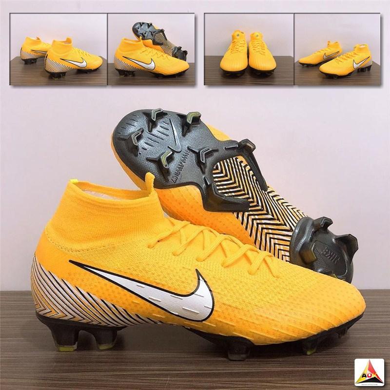 Sepatu Bola Import Mercurial Superfly VI 360 Neymar Amarillo FG 1323e08798