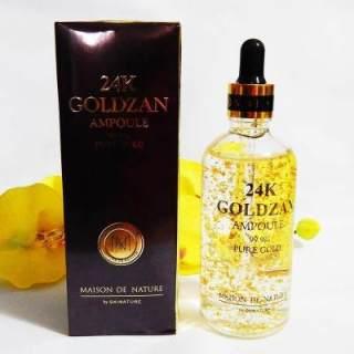 UCIS - ( COD ) Pemutih Wajah - Serum Kecantikan - Serum Whitening - Serum Goldzan Serum Korean Pemutih 24K Goldzan Original - Serum wajah - New Packing - 100 ML ( COD ) thumbnail