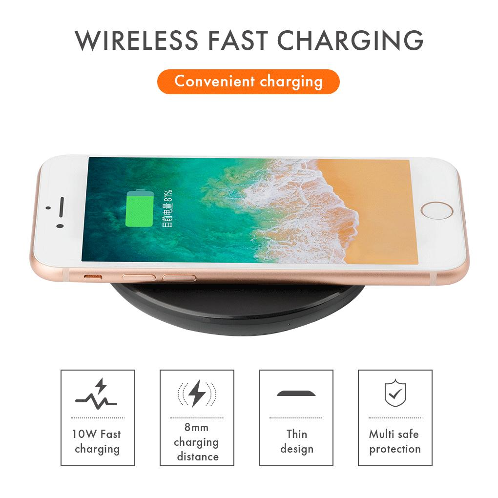 Inone Wireless Charger Universal Ultra thin Quick Charging Q3