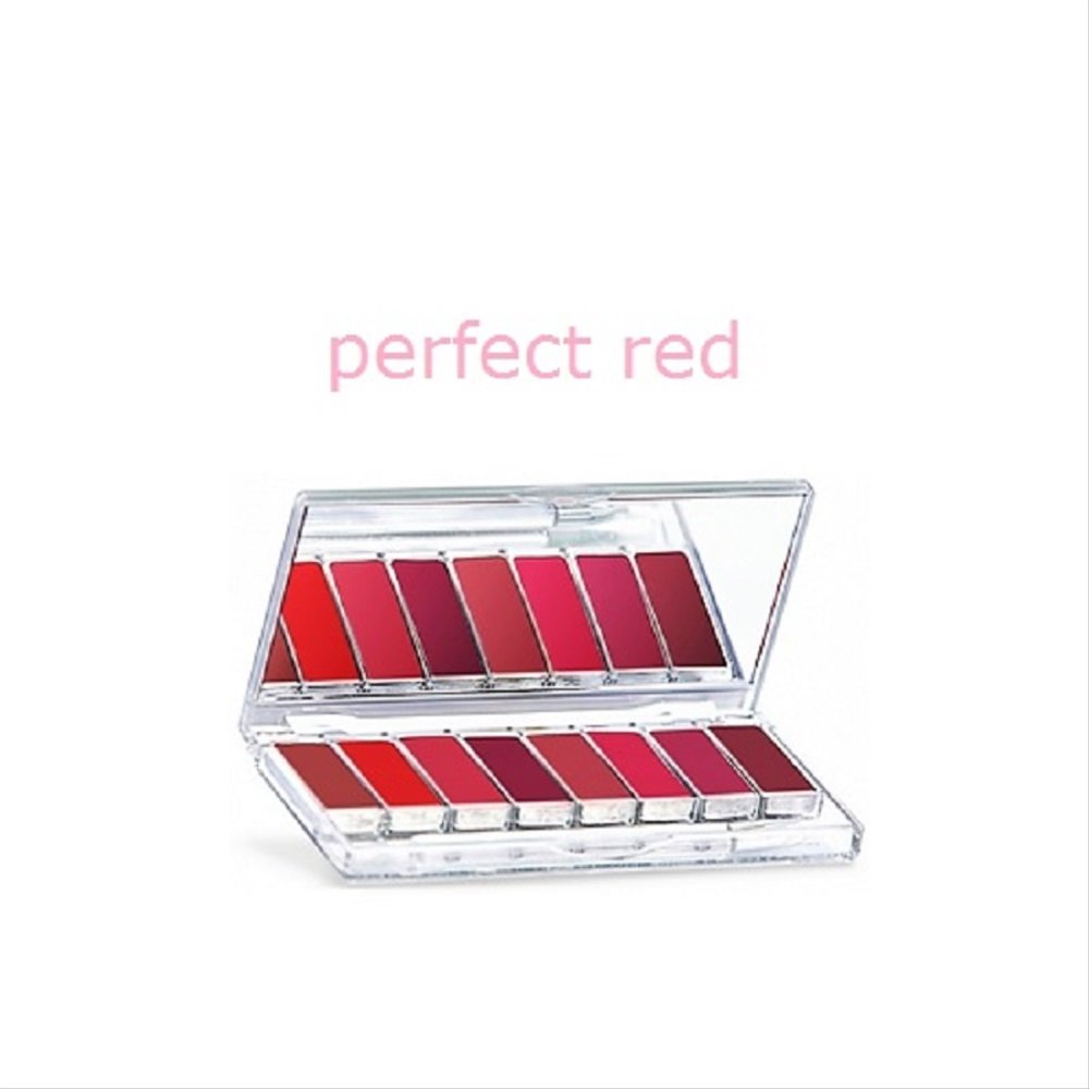 Wardah Lip Palette - Perfect Red