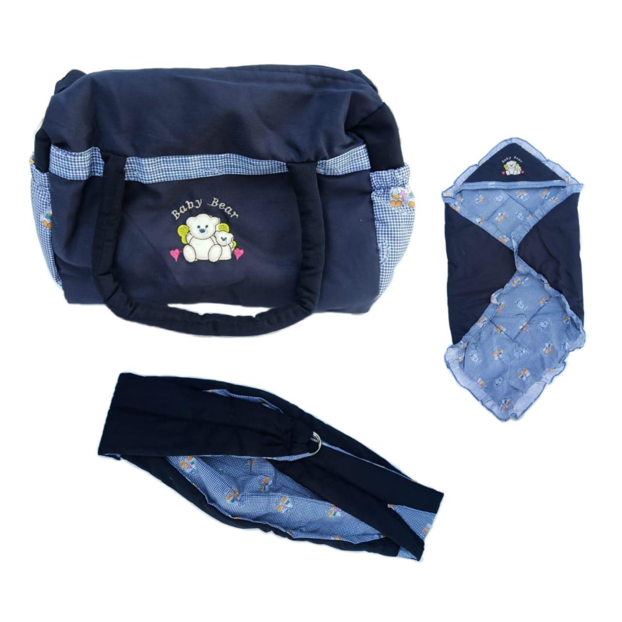 Tas set bayi 3 in 1 selimut gendongan dan tas