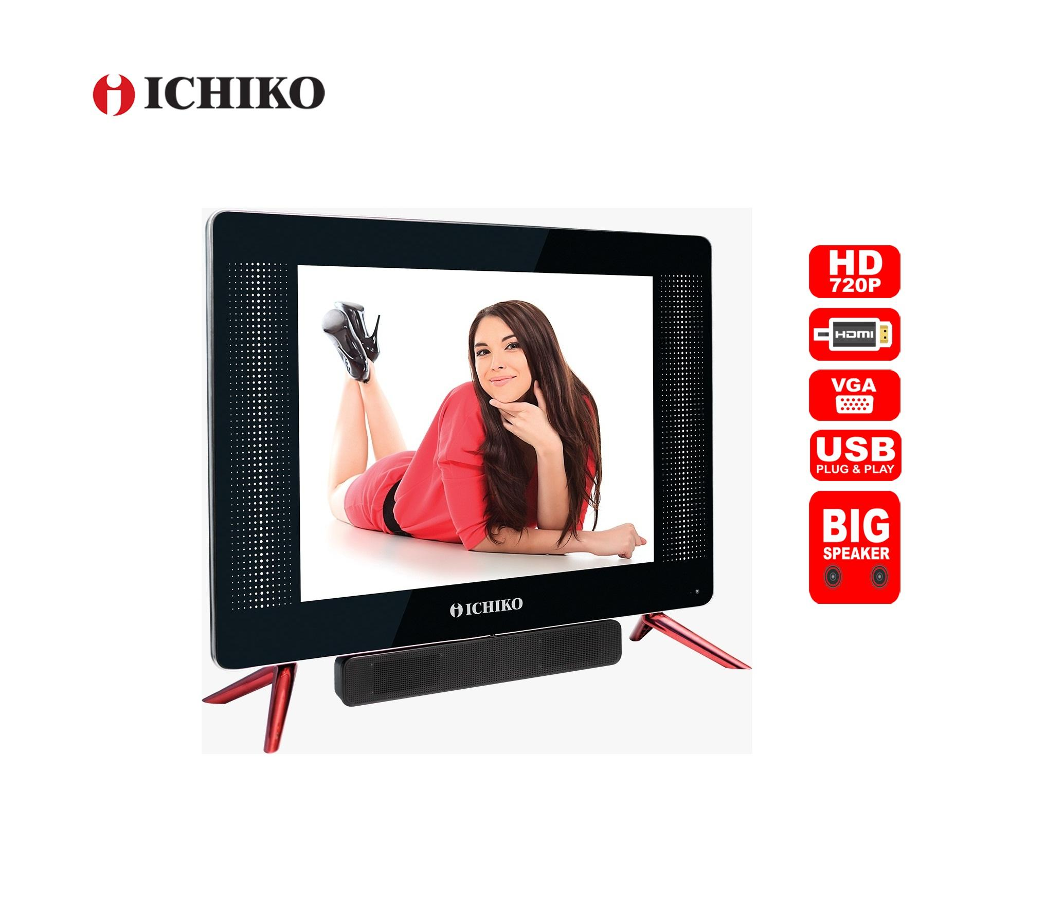 ICHIKO LED TV 19 HD Plug & Movie USB HDMI S1919