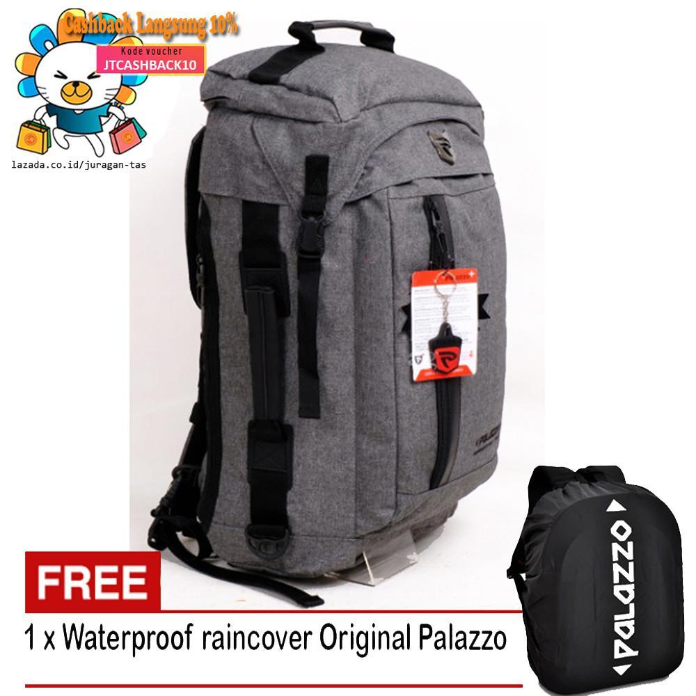Free Shipping - Palazzo 34788 Tas Pria Tas Wanita Tas Ransel Tas Tabung Tas  Travel Bag 24b16e3b55