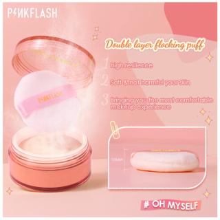 PINKFLASH Phấn Phủ Trang điểm Màu Tự Nhiên Mềm Mịn Không Thấm Nước Giữ Lớp Trang điểm Bền Lâu Hoàn Thiện, Bột Tự Nhiên Mờ Kiểm Soát Dầu Trang Điểm Mỏng Không Thấm Nước, Không Thấm Mồ Hôi Trang Điểm Bột thumbnail