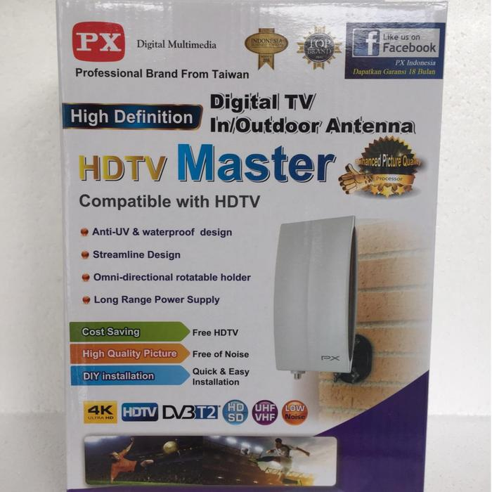 PX DA-5200 ANTENA TV Digital Indoor/outdoor