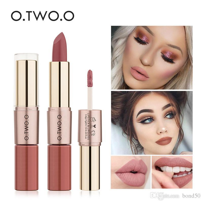 O N9107 Lipstick Matte 12 Warna 2 In 1