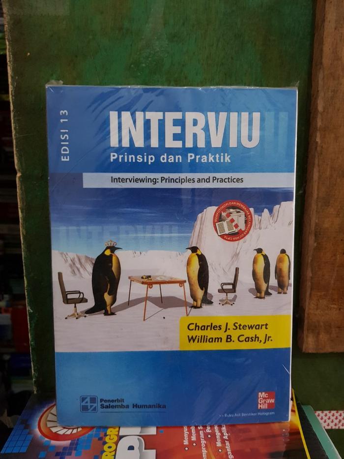 Interviu prinsip dan praktik edisi 13 by Charles j Stewart