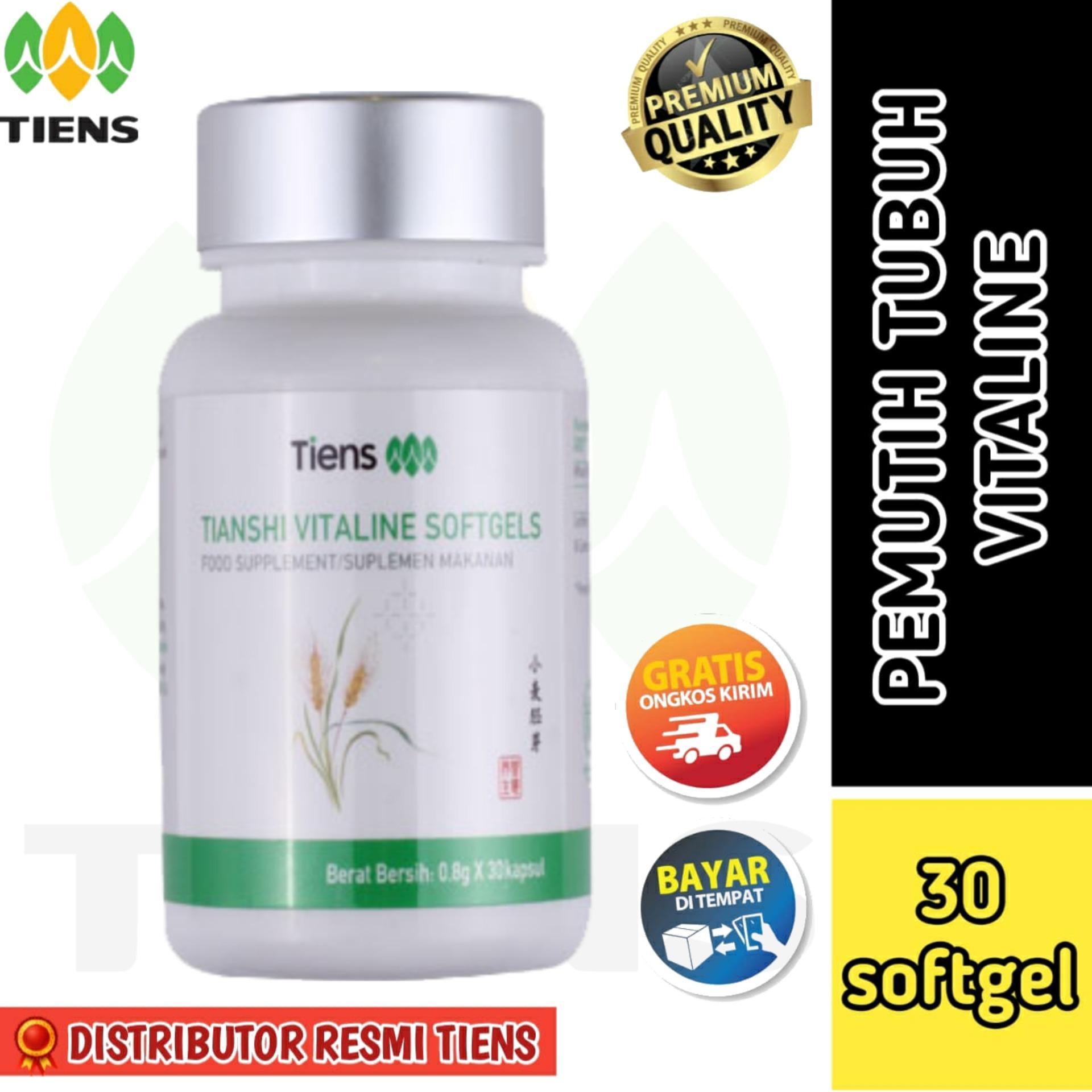 Pemutih Badan Alami Terbaik Dunia Vitaline Softgel Isi 30 Full 100 Original By Tiens Shop Original Lazada Indonesia