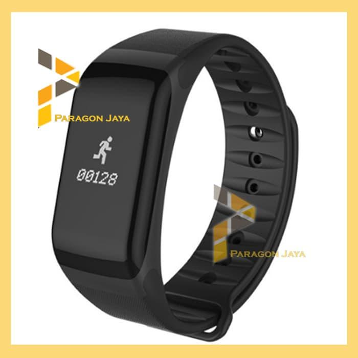 FLASH SALE!! SmartBand F1 Full Hitam - Smartwatch Smart Watch Xiaomi Mi Band Fitbit