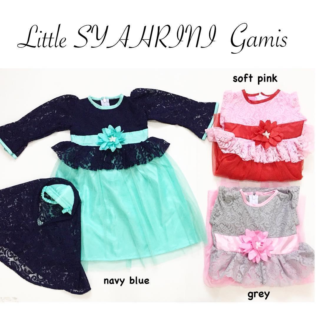 Little Syahrini Gamis Anak Gamis Bayi Babeebabyshop By Babee Baby Shop.