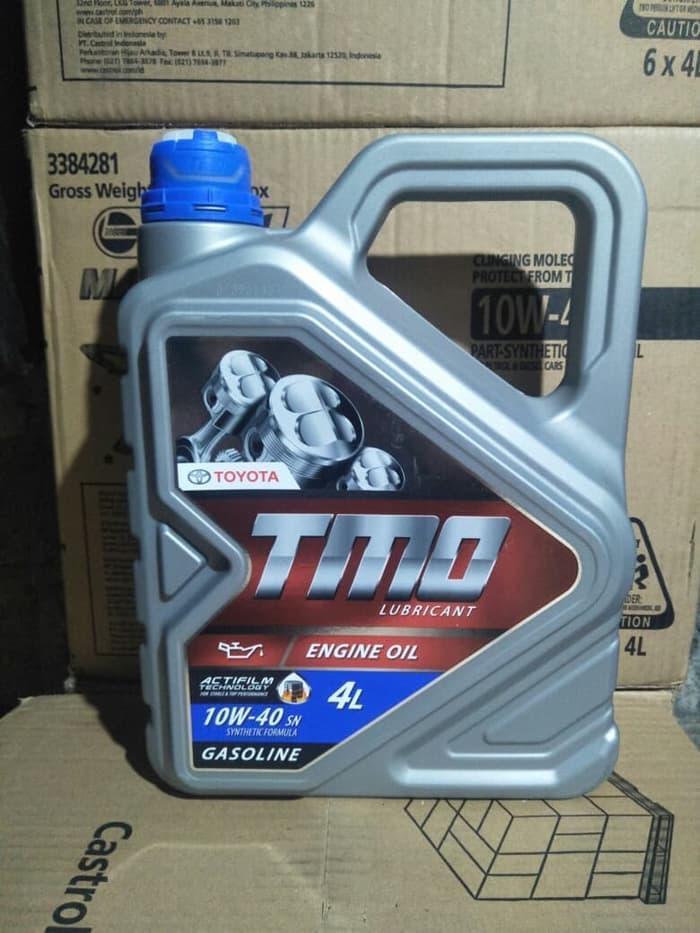 oli mobil new tmo sae 10w-40 galon 1 liter