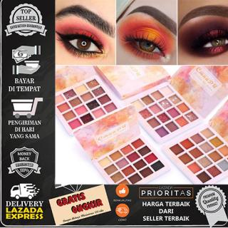 CmaaDu 16 Warna Shiny Eyeshadow Waterproof Palette Eyeshadow thumbnail