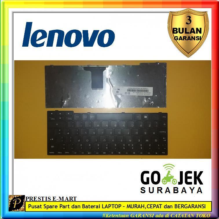 Keyboard LENOVO E10-30 S10-3 S100 S110 S205 - Hitam