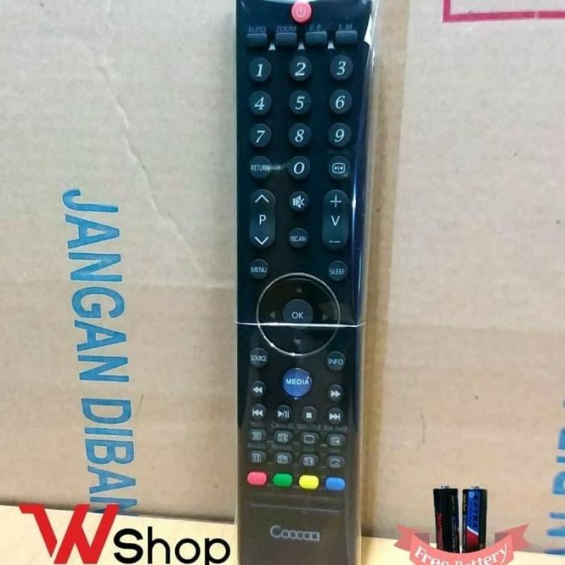 REMOT TV LCD/LED COOCAA MEDIA DIGITAL ORIGINAL