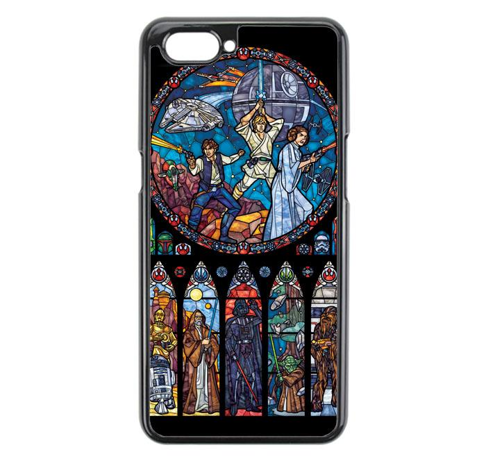 Casing For Oppo A3S Star Wars Stained Glass E1495