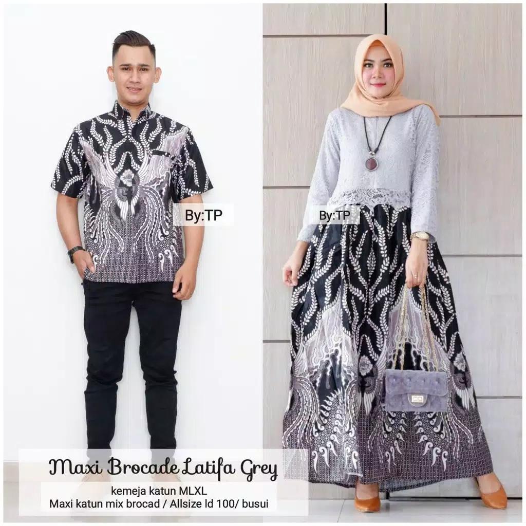 Riswa Ltd Batik - Baju Batik Latifa batik couple baju couple batik keluarga  baju couple batik remaja batik couple atasan baju batik couple untuk pesta
