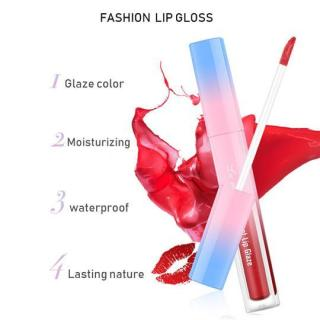 Lameila Velvet Lip Glaze Lip Gloss Lipstick Cair Lipstik LaMeiLa Lip Tint-bisa pilih warna thumbnail