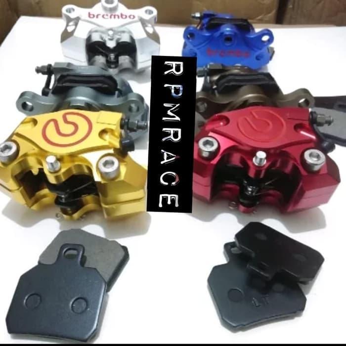Kaliper Caliper Master Bawah Brembo 2 Piston Full Cnc Universal By Rpm Race.