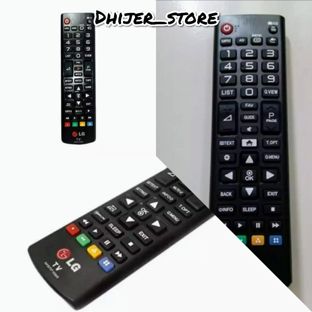 Remote TV LG Original 100% Original Remote TV LED/LCD/Tabung Dhijer_store