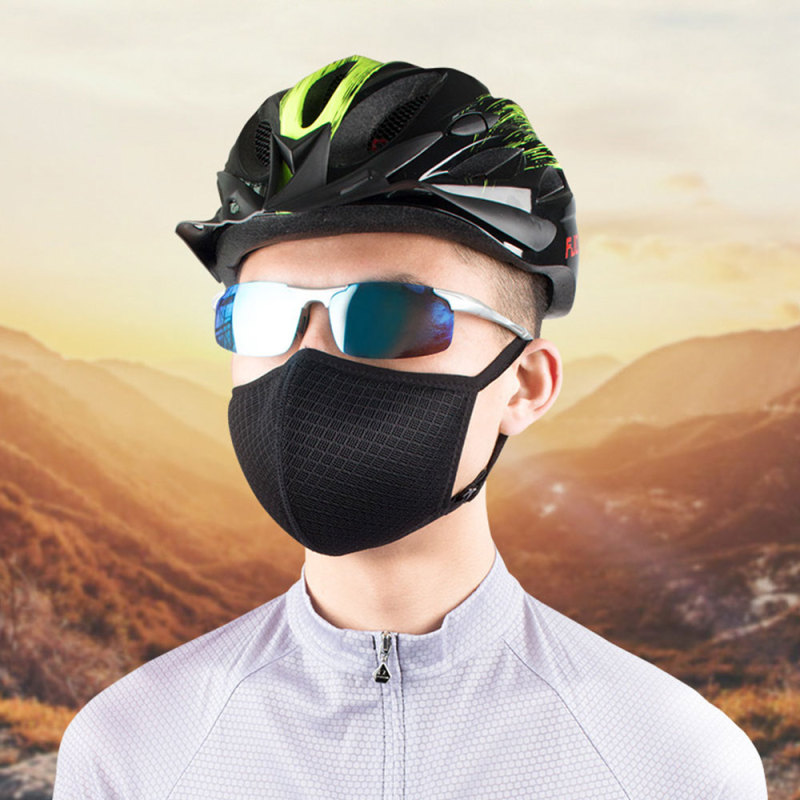 Gesila [hot sale ready] Adjustable Air Purifying Masks Dust Haze Fog Respirator Anti-Dust Riding Masks Cycling Face Masks Trainning Mask