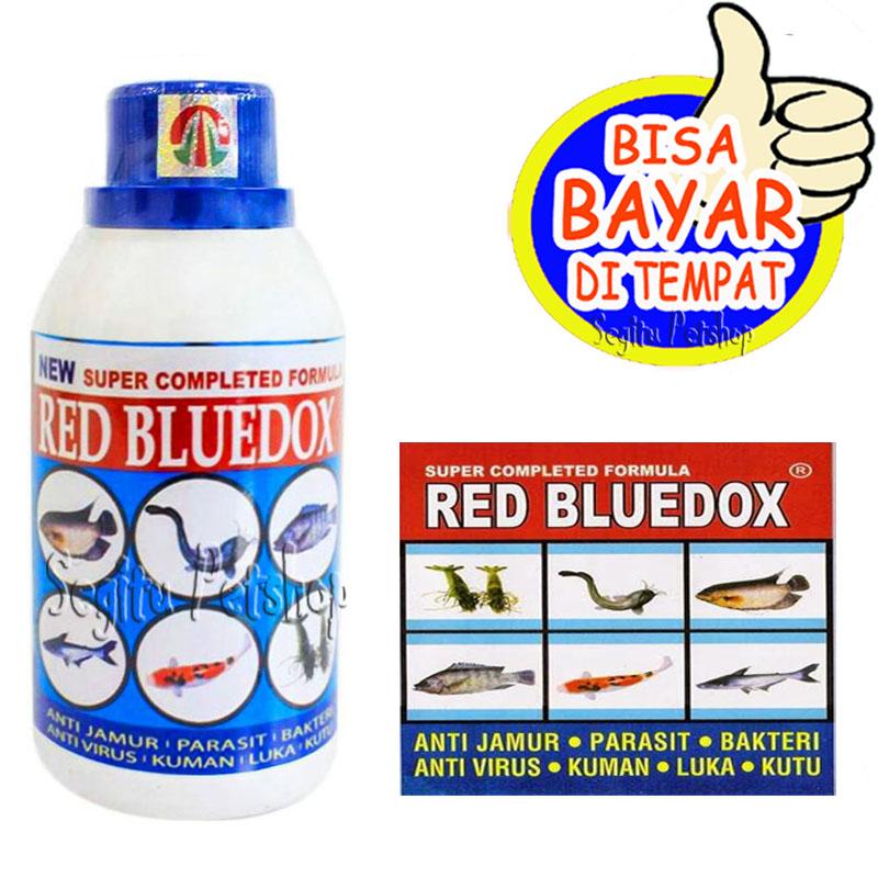 Obat Jamur Ikan Hias Gurame Lele Koi Patin Udang Nila Anti Virus Kuman Bakteri Red Bluedox Lazada Indonesia