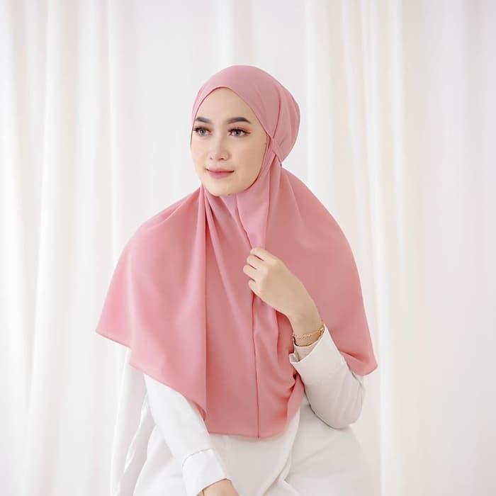 Hijab Instan Bergo Maryam Diamond Italiano Non Pet Jilbab Bergo Maryam Aisyah Lazada Indonesia