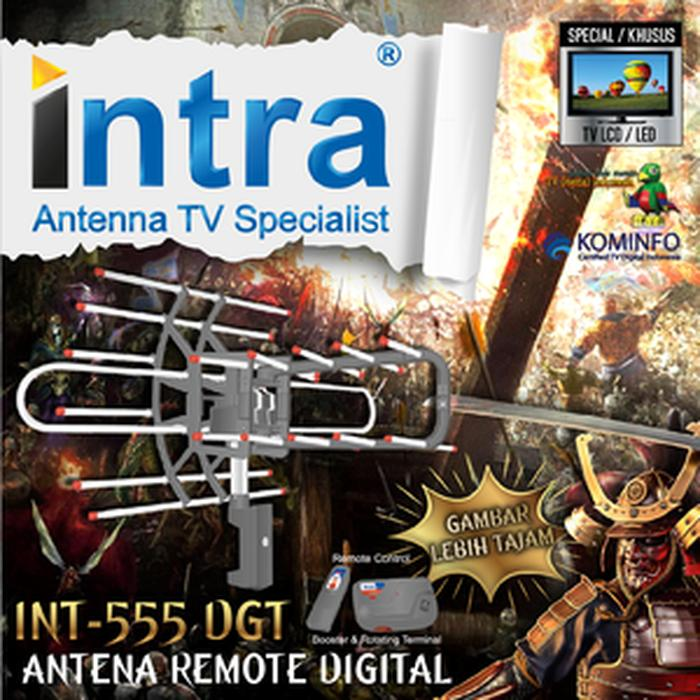 Antena Intra 555 Antena TV Remote Digital Outdoor Indoor