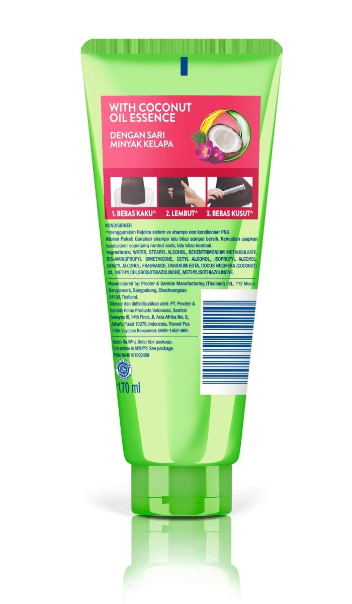 Paket Rejoice Anti Frizz Shampoo Conditioner 2pcs Lazada Indonesia