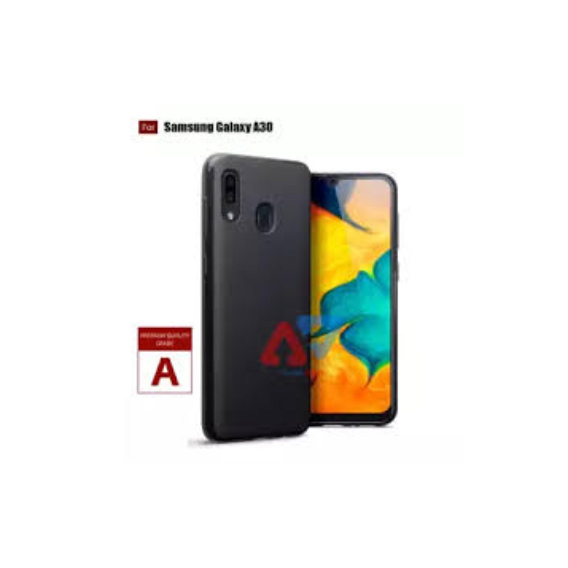 ULYBAE UltraSlim Black Matte Hybrid Case for Samsung Galaxy A30  - Black -  JUAL CASE MATTE Termurah - Terlaris Jakarta