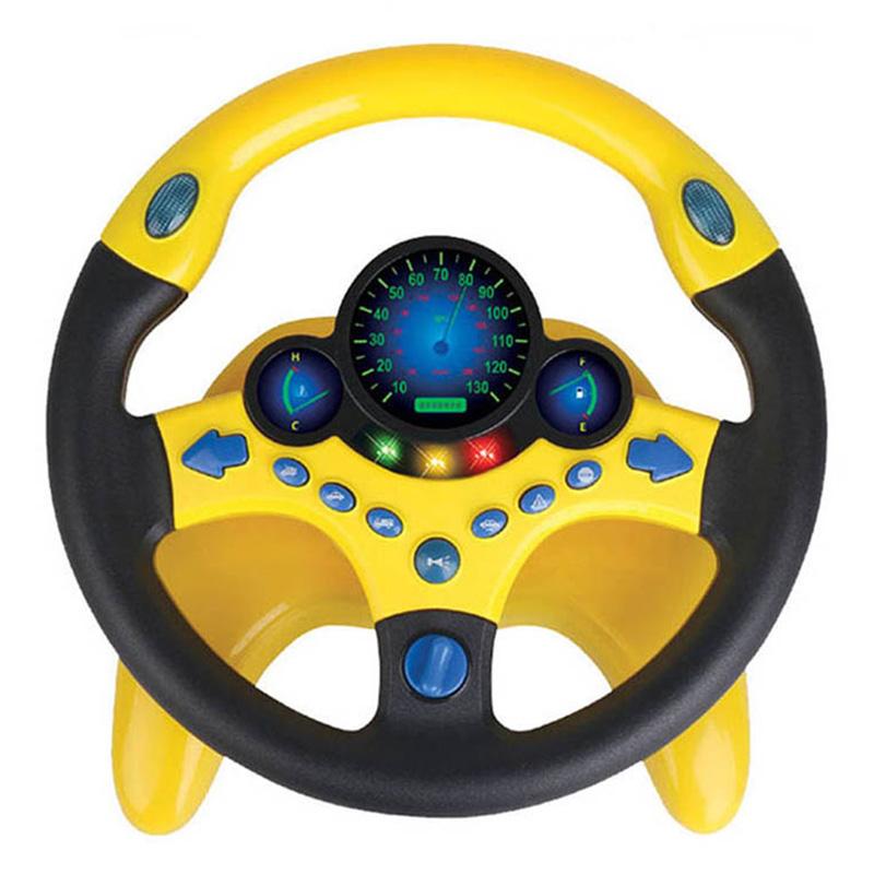 Copilot Simulated Steering Wheel Toy Children'S Educational Sounding Toy Small Steering Wheel Bất Ngờ Ưu Đãi Giá