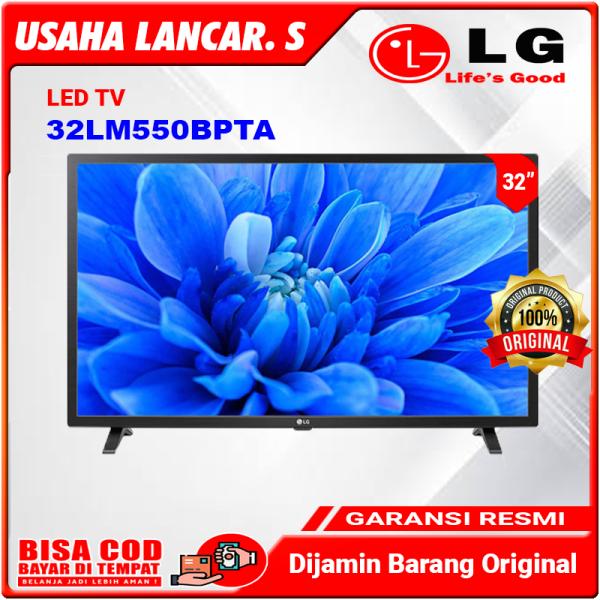 "FULL HD TV LG 32LM550BPTA 32"" HD – Dynamic Color Enhancer / 32 LM550 BPTA HDMI USB Movie [Garansi Resmi]"