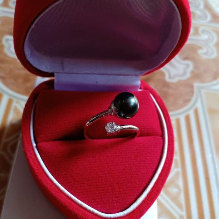 Cincin Emas Putih Mutiara Air Laut Origin Lombok By Lombok_pearls.