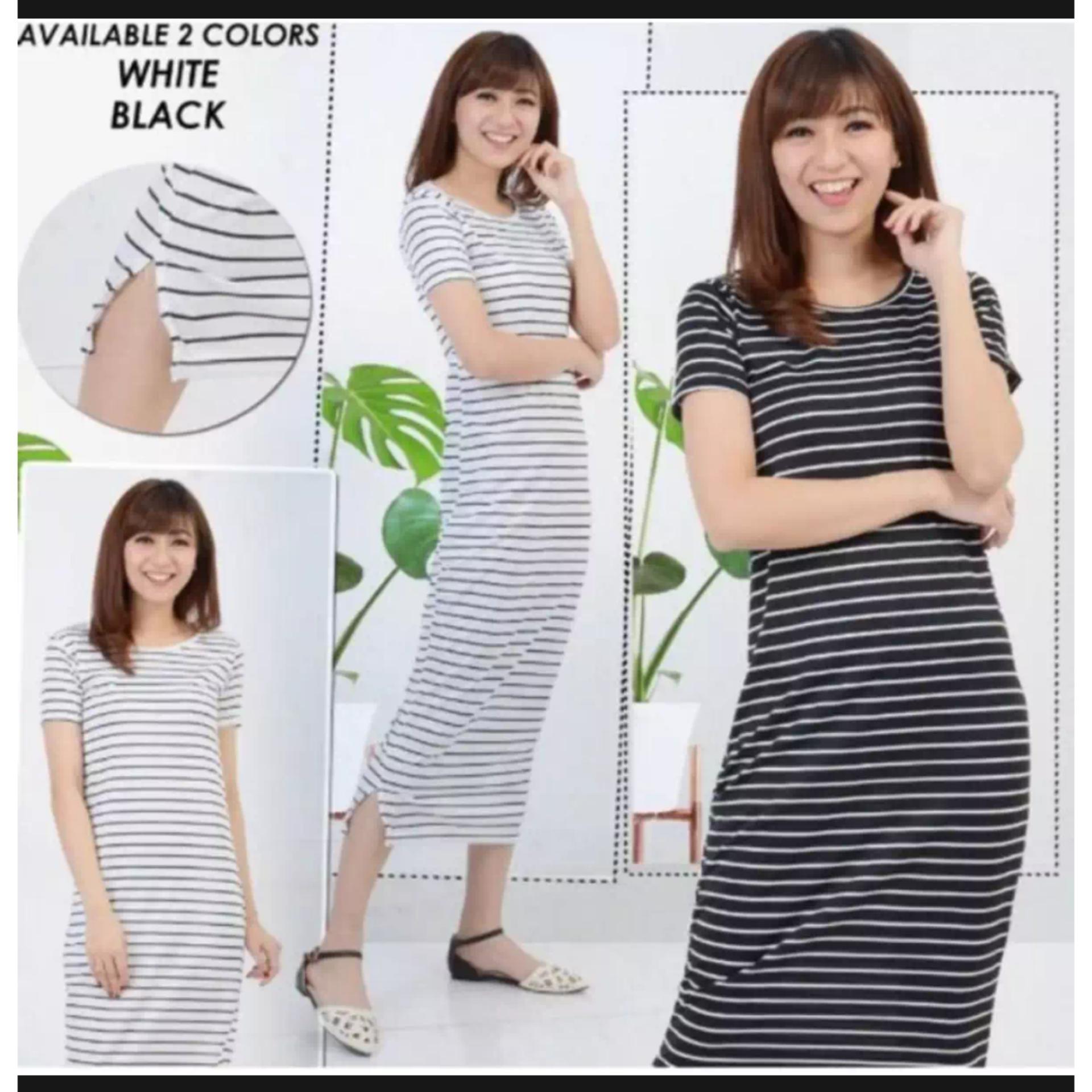 Dress Elsa Salur  Tunik Cinta   Inner   Maxy Pinggang   Baju Wanita   Blouse e23bc75e56