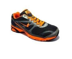 Beli Eagle Ecolight Sepatu Lari Dark Grey Orange Lengkap