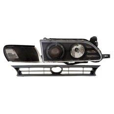 Spesifikasi Eagle Eyes Headlamp Projector Angel Eyes Ccfl Great Corolla Black Lengkap Dengan Harga