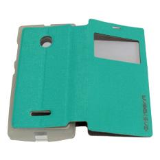 Easy Bear Leather cover Sarung Untuk Nokia Lumia N435  - Hijau Tosca