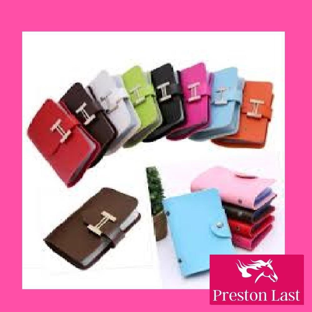 Preston Last - Tempat Dompet Kartu Card Pouch Holder Nama ATM Koin Kulit  Mini Murah Lucu 7e2fd2d313