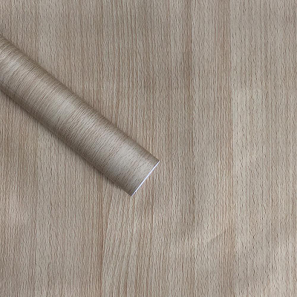 XJING - Self-Adhesive Wallpaper Waterproof PVC Wallpaper for Bedroom/Living room/TV background/ Furniture Wardrobe Cabinet Wood Door Renovation Sticker Home Decoration 45*45