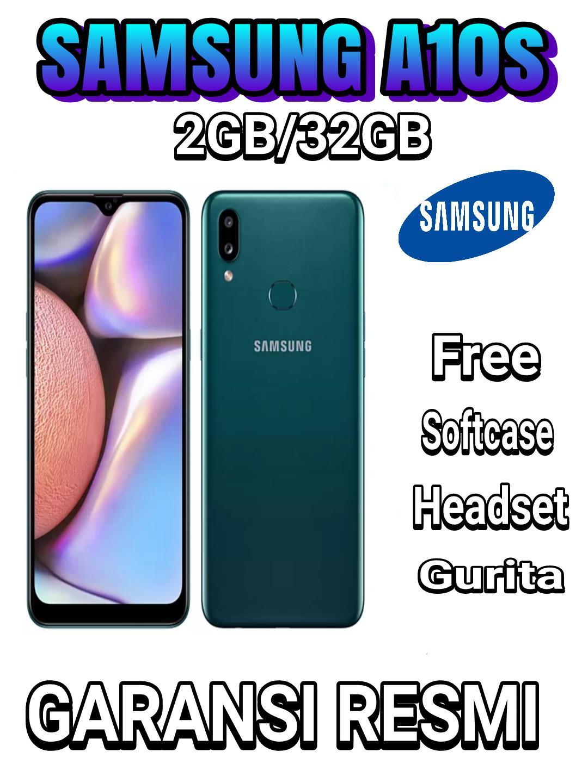 Samsung Galaxy A10s 2GB/32GB (COD, Garansi Resmi SAMSUNG, Cicilan tanpa kartu kredit, Cicilan 0%)