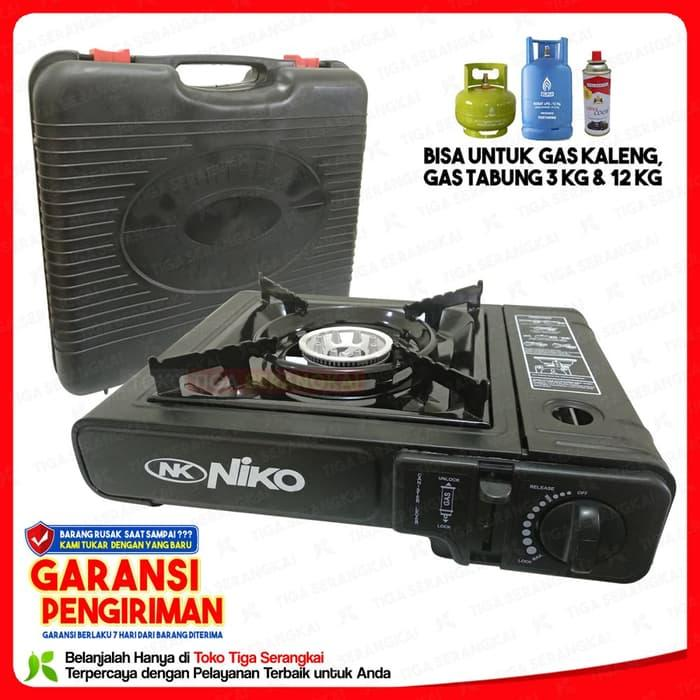 PROMO kompor gas 2 tungku NIKO stainless RECOMENDEDIDR354800. Rp 359.200