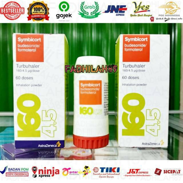Obat Asma - Symbicort Budesonide/Formoterol 60 Doses (Turbuhaler 160/4.5)