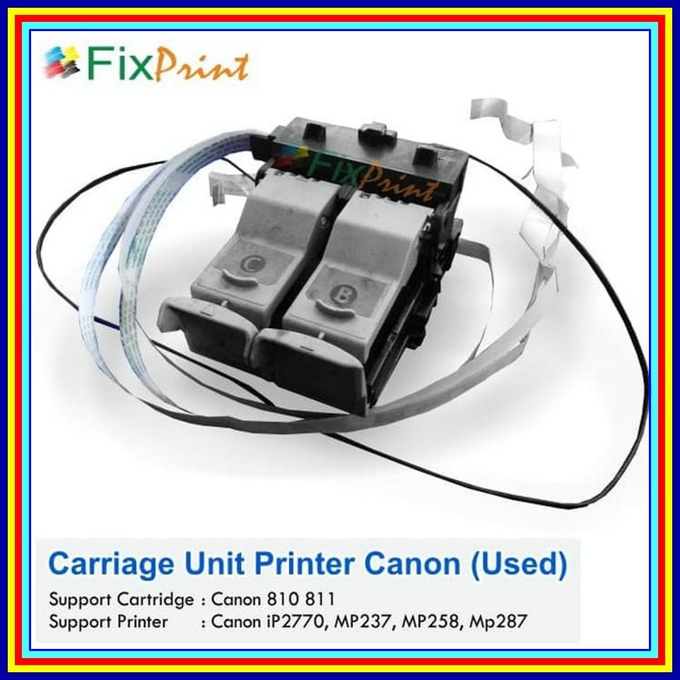 Spart CANON Head Carriage Rumah Cartridge IP2770 Mp237 Mp287 Mp258