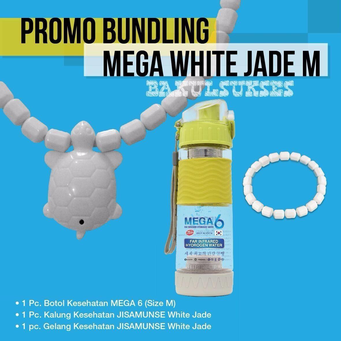 DOUBLE BONUS KALUNG JISAMUNSE WHITE JADE KURA KURA GRATIS BOTOL MEGA 6 500 ML - BOTOL