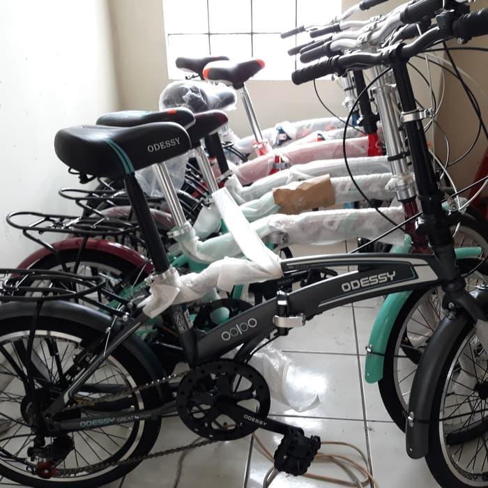 DISKON  Sepeda Lipat anak & dewasa 20 Odessy murah